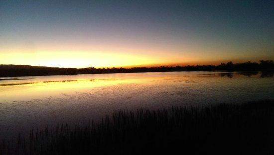 Jabiru Safari Lodge: sunset