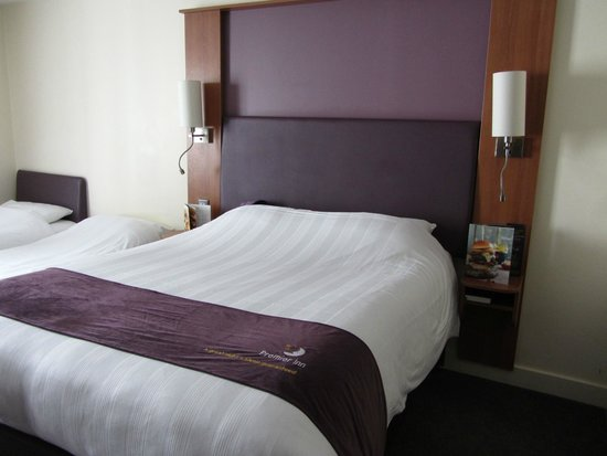 Premier Inn Belfast City Cathedral Quarter Hotel: comfy beds