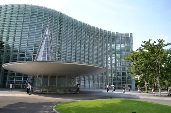 The National Art Center, Tokyo: 正面