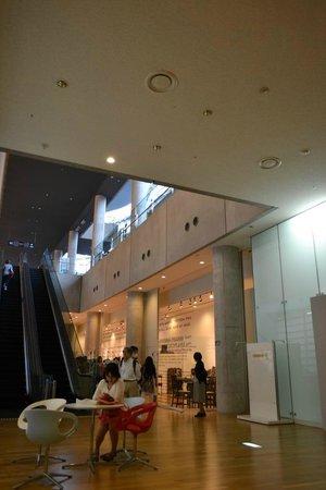 The National Art Center, Tokyo: ショップ前