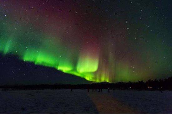 Fotopaseos: La primera noche de Auroras Boreales... hermoso.
