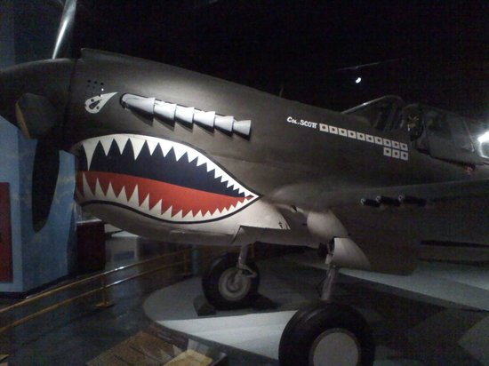 Museum of Aviation : P-40B