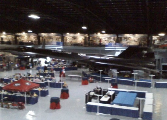 Museum of Aviation : SR-71 Blackbird
