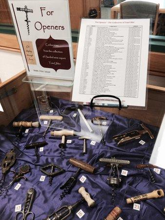 Sanibel Public Library: Wine opener collections