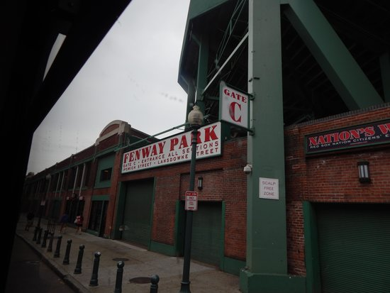 On Location Tours : Gate C at Fenway - where part of The Town was filmed