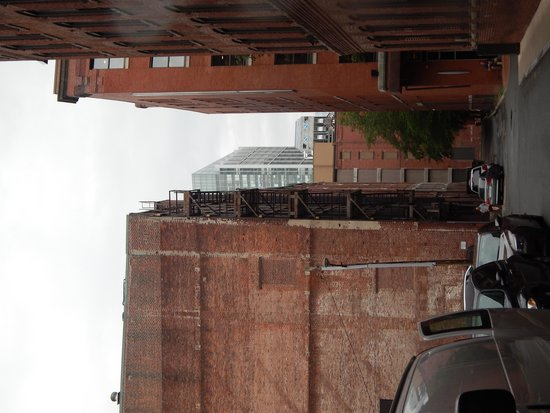 "On Location Tours : Building used for the rooftop scene in ""The Departed"""