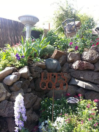 Maggie's Garden Bed & Breakfast: This one says it all...