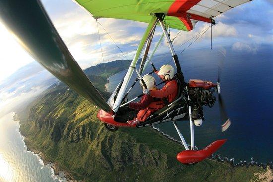 Paradise Air Powergliding tour
