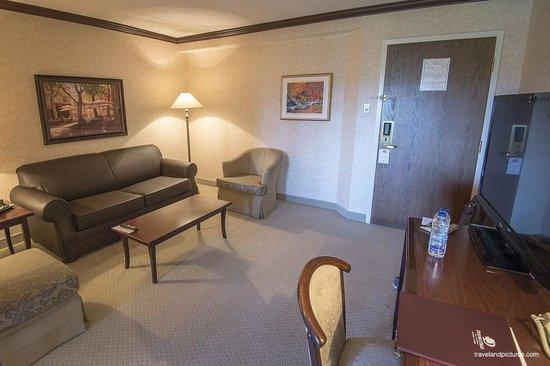 DoubleTree by Hilton Hotel Gatineau-Ottawa: Living room