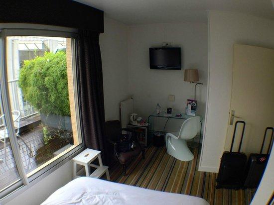 Mercure Paris Bastille Saint Antoine : Terrace room on 4th floor