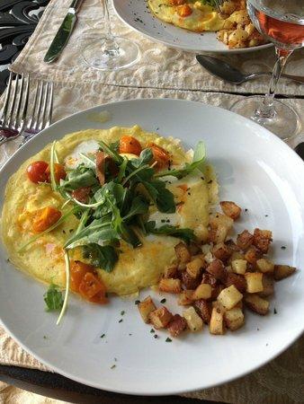 Biltmore Village Inn : One of many breakfast items