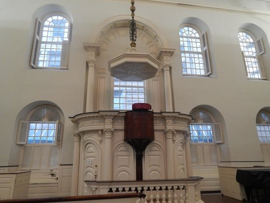 Old South Meeting House: Meeting house