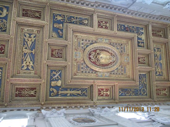 Arcibasilica di San Giovanni in Laterano: Nave ceiling of St John of the Lateran