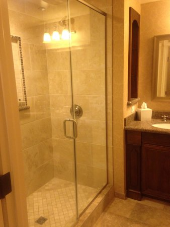 The Meritage Resort and Spa: Shower