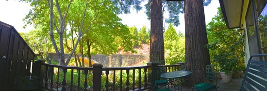 Benbow Historic Inn: view from our patio
