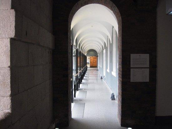 National Museum of Ireland - Decorative Arts & History: 廊下