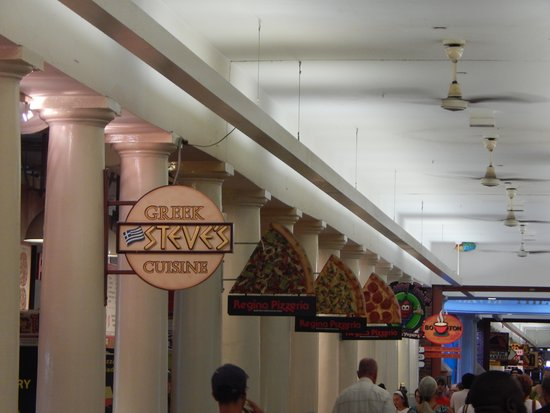 Faneuil Hall Marketplace : Some of the food options
