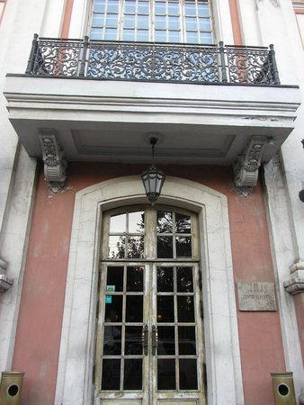 Café Pushkin : Old-style architecture