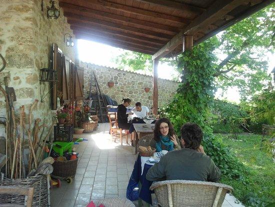 Casale Le Crete: la nostra colazione
