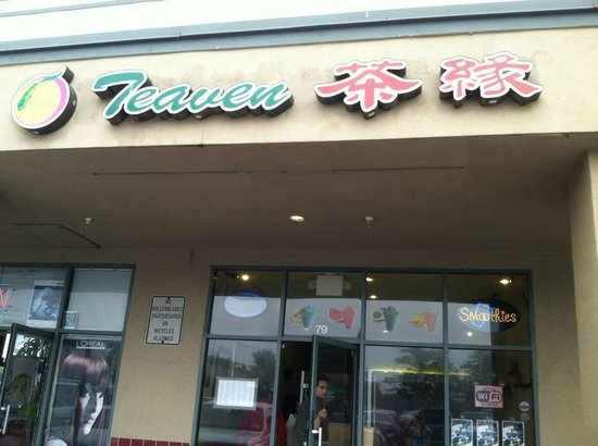 Teaven Store Front