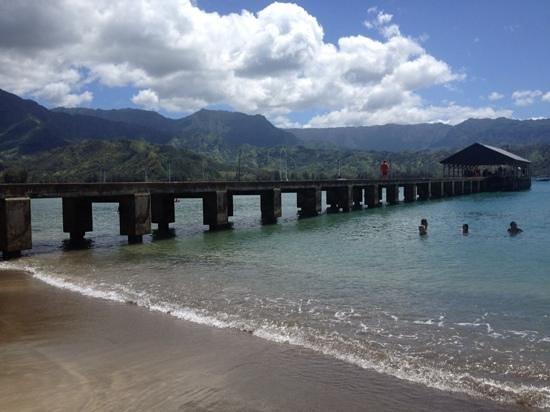 Westin Princeville Ocean Resort Villas: Hanalei Pier