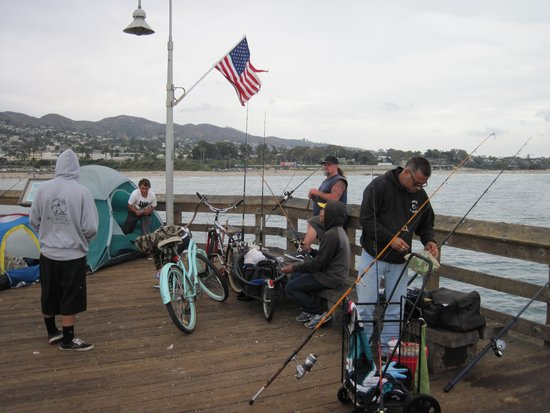 Ventura Pier and Promenade: Ventura Pier Shark Fishermen.
