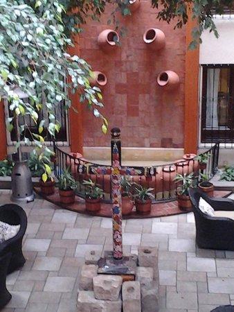 Mansion del Valle : lobby del hotel