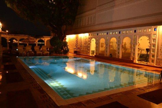 Taj Lake Palace Udaipur : Pool