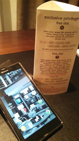 Les Suites Taipei Ching-cheng: Smart phone key
