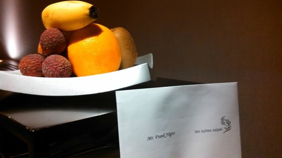 Les Suites Taipei Ching-cheng : free fruit