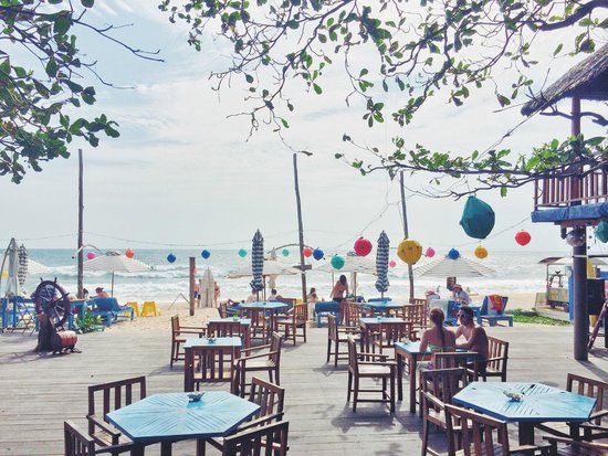 Rory S Beach Bar View