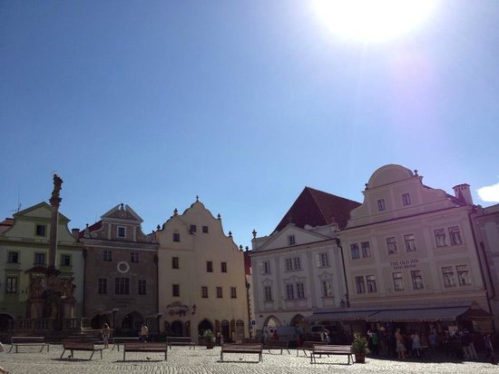 Historic Center of Cesky Krumlov : Old Town Square.