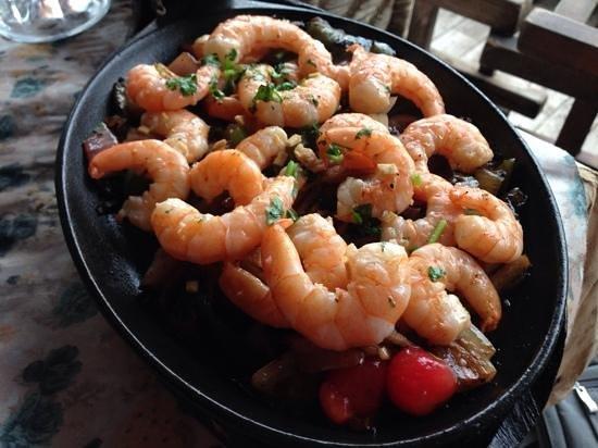 Fajita Republic: Shrimp Fajitas