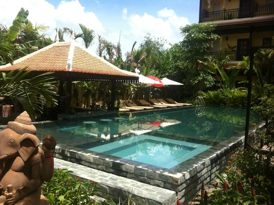 Residence Indochine D'angkor: Am i in Bali??