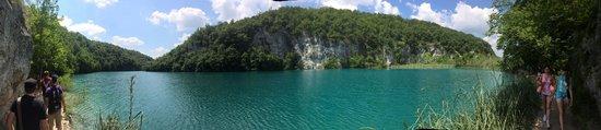 Plitvice Lakes National Park : panorama of plitvice