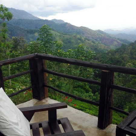 98 Acres Resort : View from our balcony