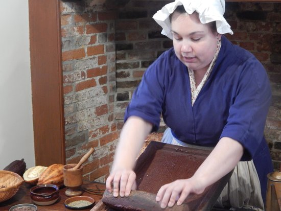 Captain Jackson's Historic Chocolate Shop: making chocolate