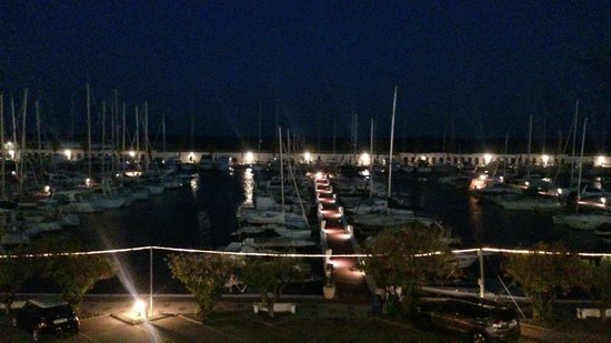 Hotel Port Sitges: night view