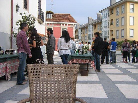 Hotel Casona del Busto: Zona común