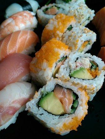 Misuji : Plat sushis
