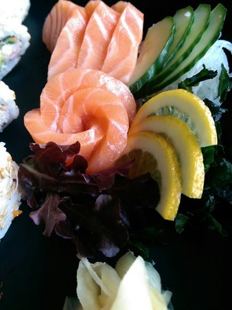 Misuji : Présentation sashimis