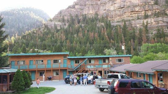 Ouray Inn: The beautiful motel