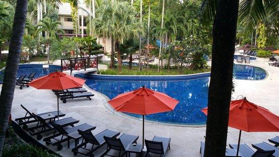 Novotel Phuket Surin Beach Resort.: La vue de la chambre