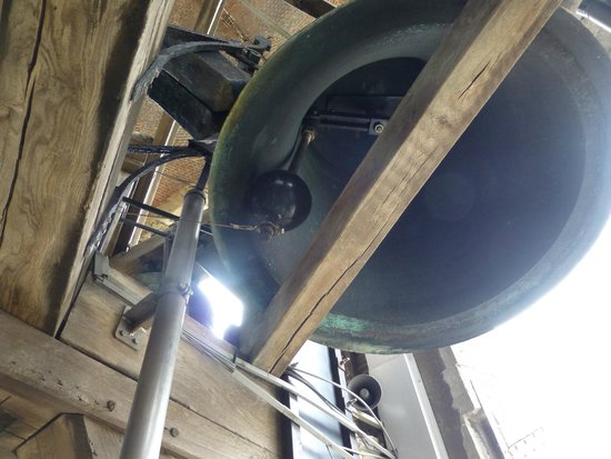 Belfort: One of the many bells at the top