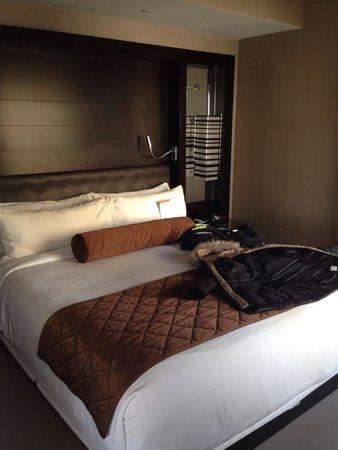 Vdara Hotel & Spa : Stanza da letto