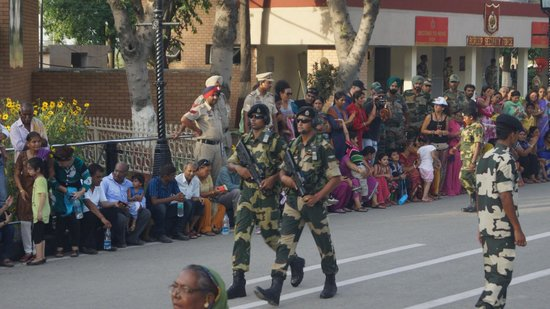 Wagah Border: We protect you all times...