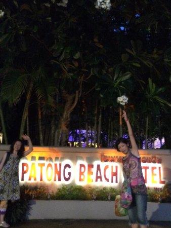 Patong Beach Hotel : とても便利なホテルです。