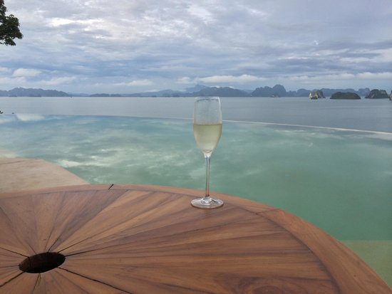 Six Senses Yao Noi: View from the hilltop reserve!