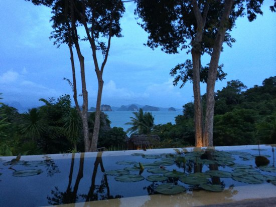 Six Senses Yao Noi: Sunset at the den...