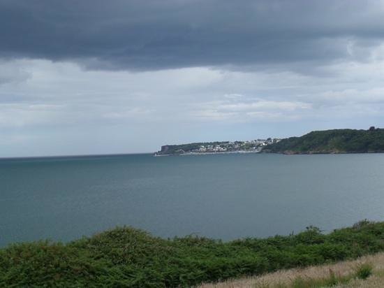 The Carlyon Bay: view from hotel